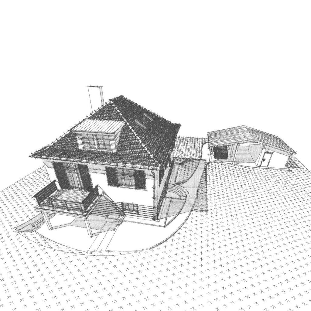 Um- und Anbau eines Einfamilienhauses