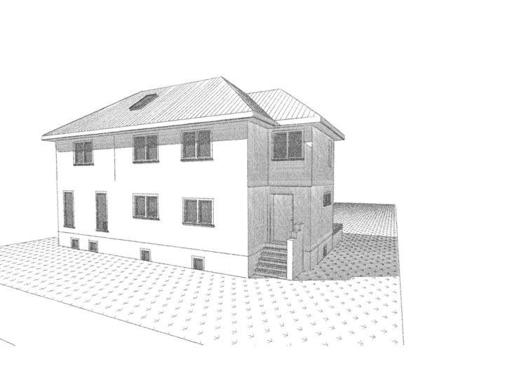 Umbau und Neubau zweier Einfamilienhäuser