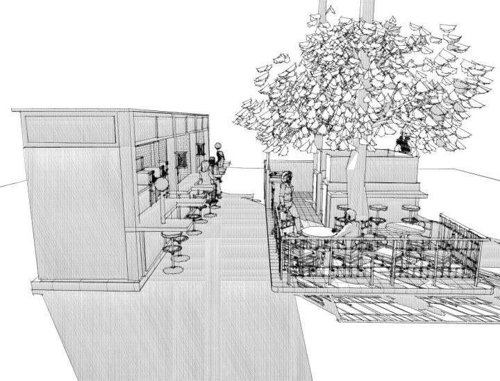 Innenausbau von gastronomischen Räumlichkeiten